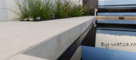 detaliu Vratza periat – placaj imbinat la 45 grade