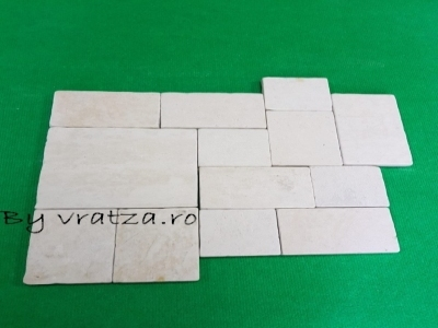 Piatra Vratza French Pattern Tumbled – Placaj interior vratza